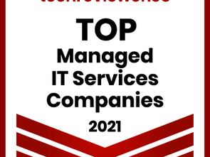 Techreviewer Ranks BetterWorld a Top MSP in 2021