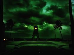Night Clock Tower