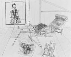 Atelier With Schiele