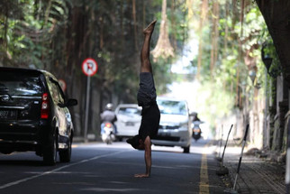 Vari Morales Yoga Posture