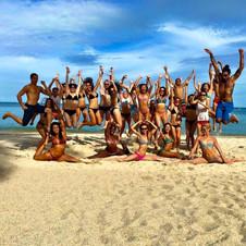 Vari Morales Beach Yoga Thailand