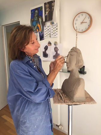 cours modelage isabelle quint atelier Poissy 78