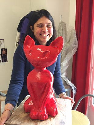 Isabelle Quint Atelier cours sculpture modelage Poissy 78 Yvelines