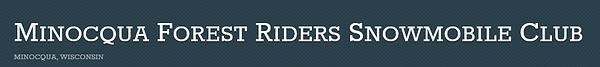 forest riders snowmobile minocqua