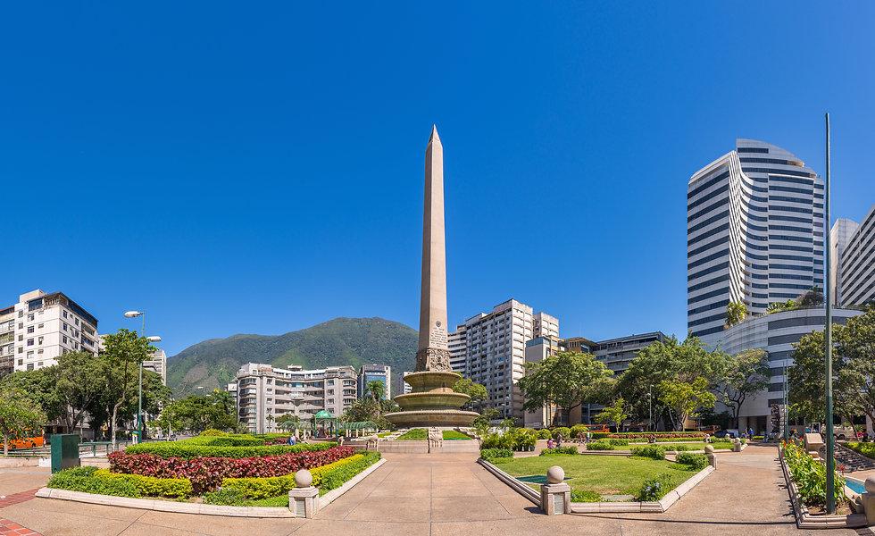 Panoramic view of Altamira's Obelisk on