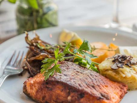 Pascua en Blossom Resto con un menú de mar especial
