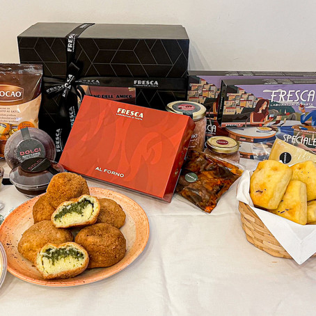 Box especial con delicias italianas para compartir, la propuesta de FRESCA para el día del amigo