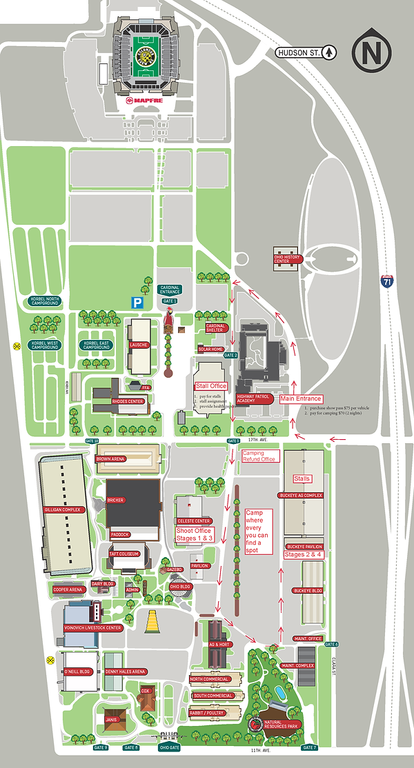Congress Classic Map of Ohio Expo Center.png
