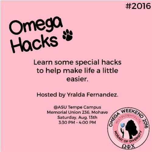 Join us for Omega Hacks