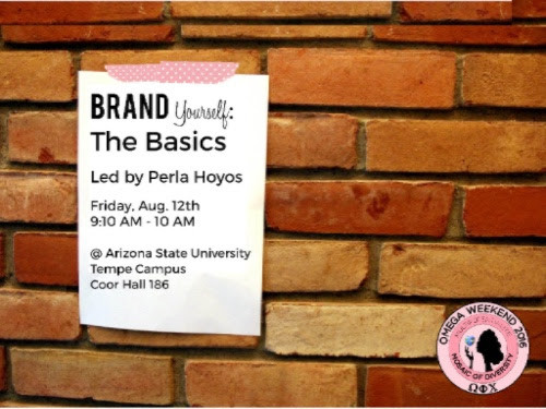 Brand Yourself: The Basics