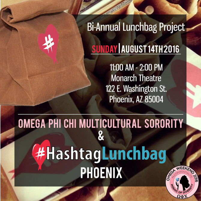 Join us for Omega Weekend community service