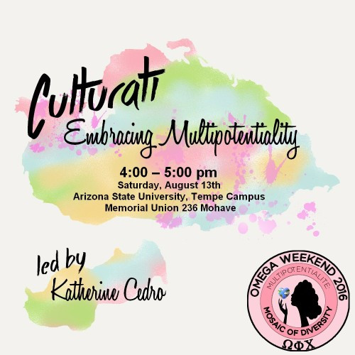Join us for our Culturati workshop!