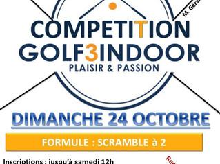 Compétition  Golf 3 indoor