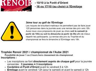 TROPHEE RENOIR - Championnat de l'aube -