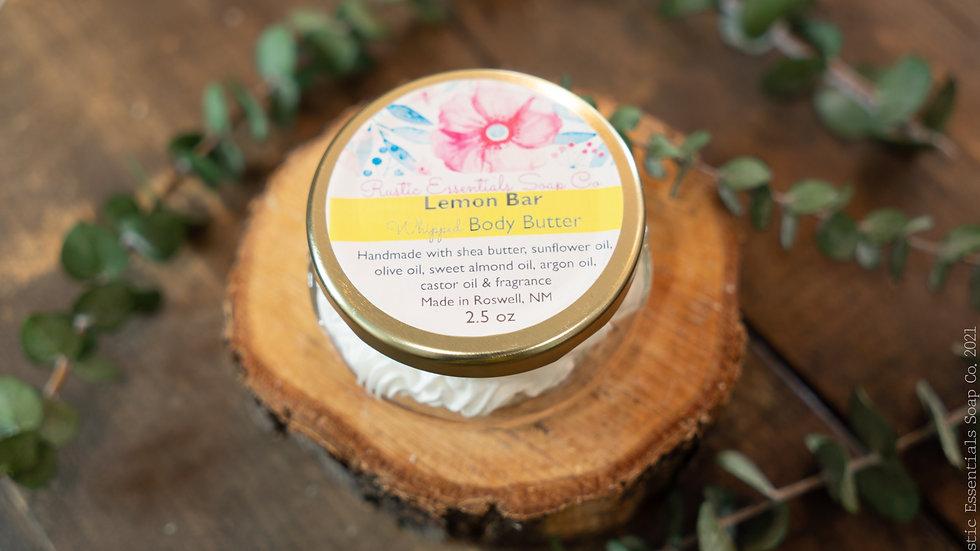 Lemon Bar Body Butter 2.5 oz