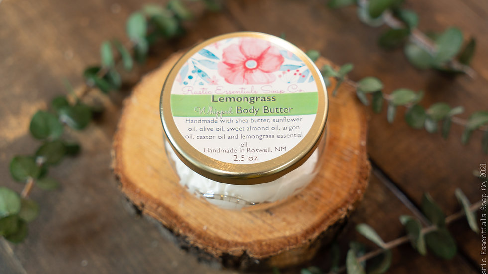 Lemongrass Body Butter 2.5 oz