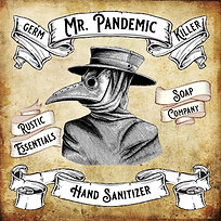 Mr. Pandemic Hand Sanitizer