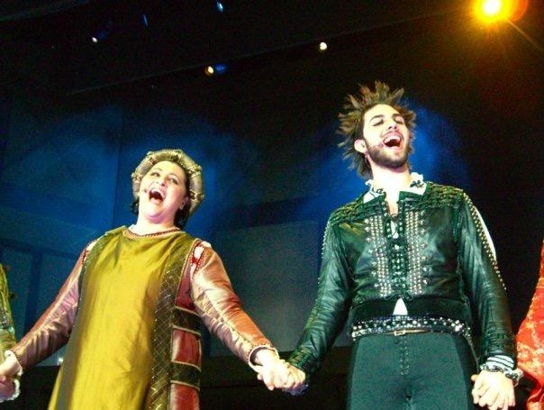 Ensemble in Giulietta e Romeo