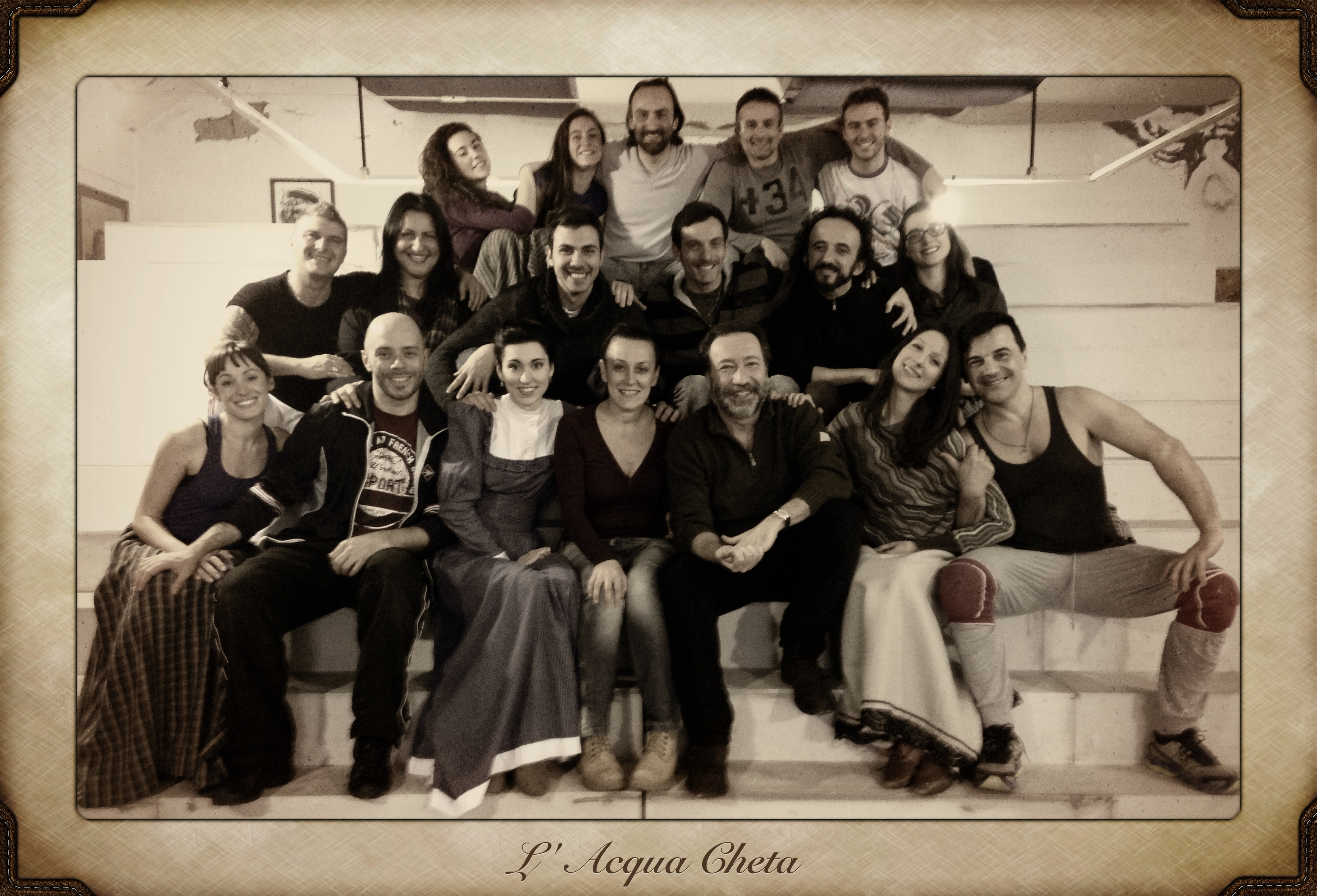 Cast de L'Acqua Cheta