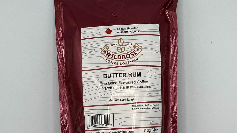 Butter Rum flavoured