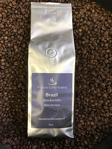 Brazil Bourbon-Medium Dark Roast