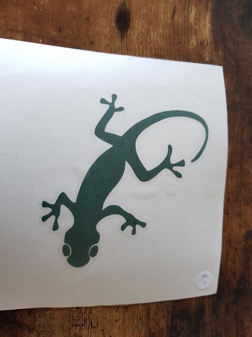 Wandtatto Gecko