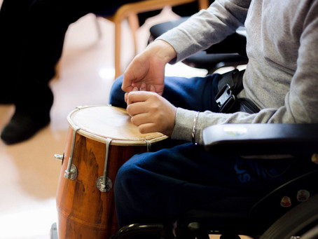 SAFS MUSIC SESSION - Learning Disability Birmingham