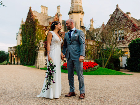 Carly and Sam - Manor By The Lake - Cheltenham Wedding Photography