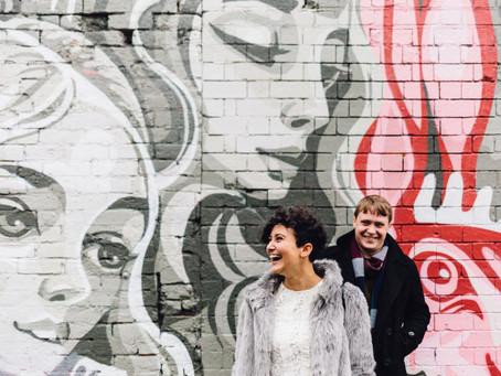 Abbie and Ross - Digbeth Engagement Photography, Birmingham