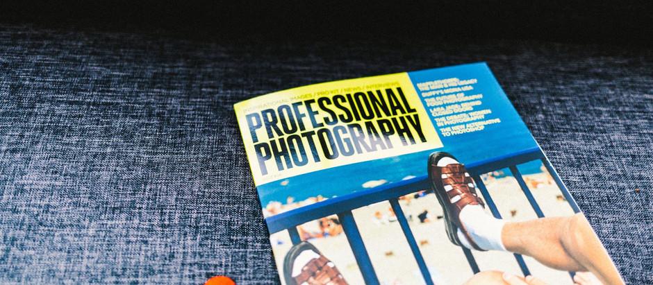 My newsletter got published! - Professional Photography Magazine