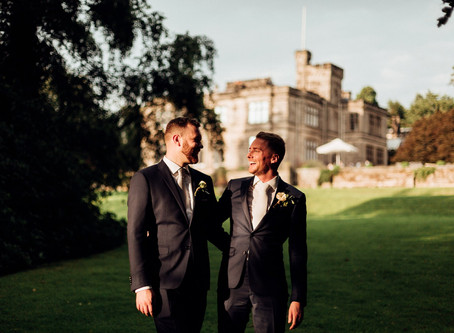 Mike and Julian - Hampton Manor - Solihull Wedding Photography