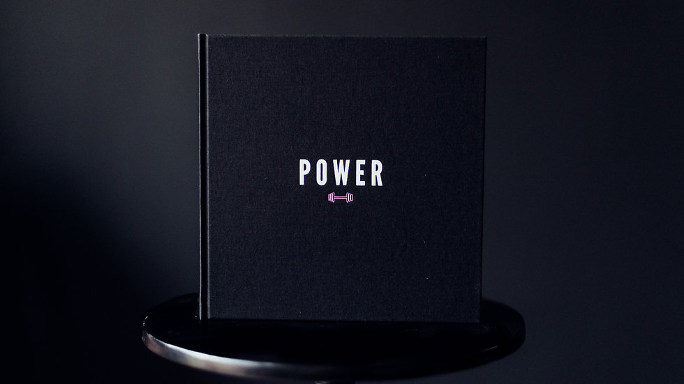 Hard back copy of Power