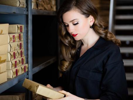 'Working Girl' - Styled shoot at Branston Plastics, Jewellery Quarter Birmingham