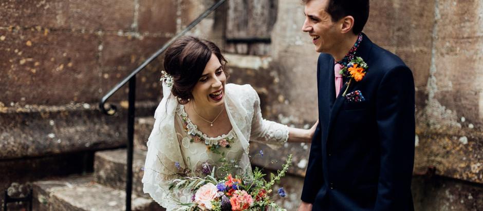 Isabel and Alex - Moor Farm - Gloucestershire wedding photgrapher