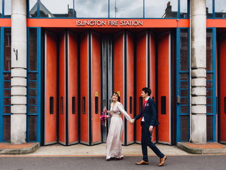 George and Michael - London Wedding Photography - New Unity Hall and The Chapel Bar, Islington