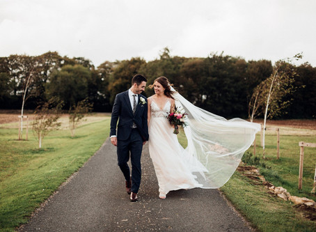 Kath and Toby - Lapstone Barns - Cotswold Wedding Photographer