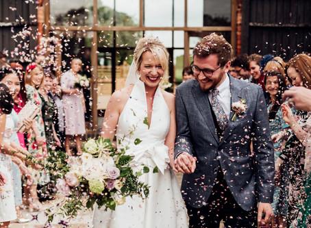 Emma & Rob - Mickleton Hills Farm - Wedding Venue - Cotswold wedding photographer
