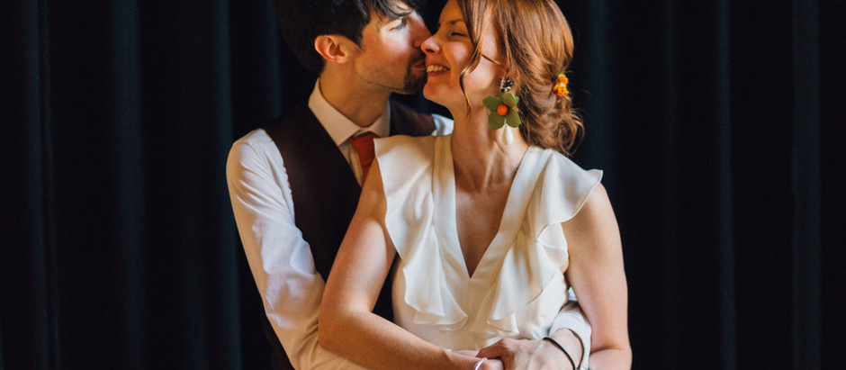 Liz and Jamez at Paintworks, Bristol - Bristol Wedding Photography