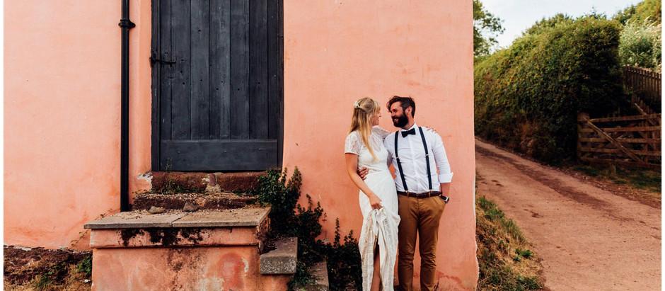 Cathy and James - Bickham Barn Wedding Photography