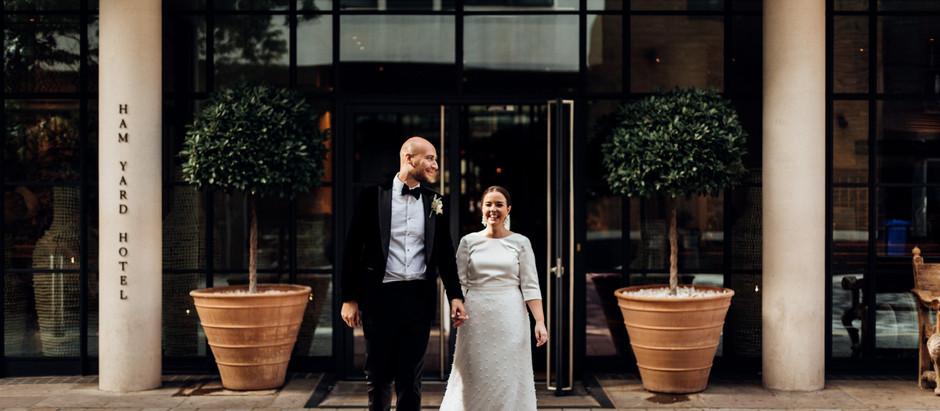 CLAIRE AND IWAN - MARYLEBONE TOWN HALL AND HAMS YARD - LONDON WEDDING PHOTOGRAPHY