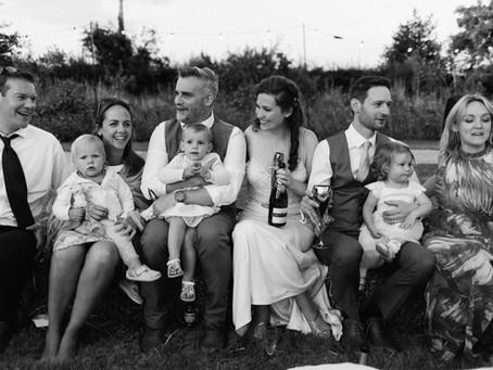 Anna and Matt - A homespun tipi wedding out in the Lichfield Countryside