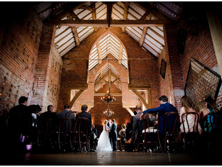 Holly and Alex - Shustoke Farm Barn Wedding