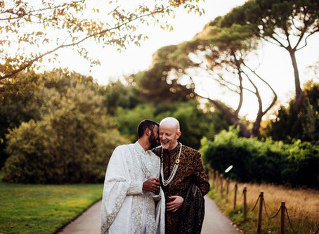 Neil and Suthesh - Kew Gardens - London Wedding Photography