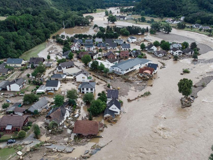 Floods Lead to 156 Dead in Western Europe, 600 Injured and 1300 Missing