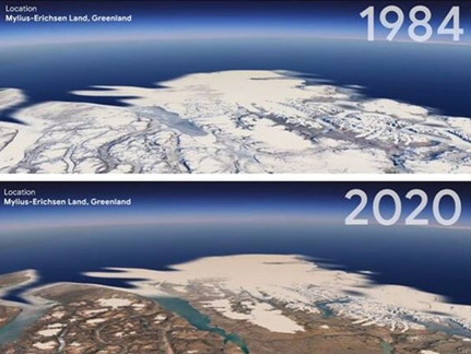 """A """"Timelapse"""" of Climate Change: Go Back in Time with Google Earth"""
