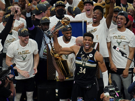 MIlwaukee Bucks win NBA Championship