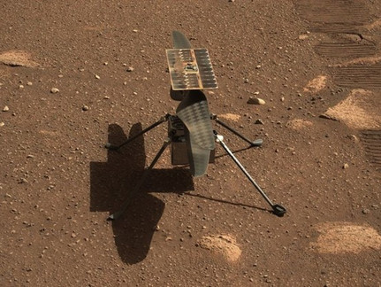 """The Historic Flight on Mars From NASA's """"Ingenuity"""" Helicopter"""
