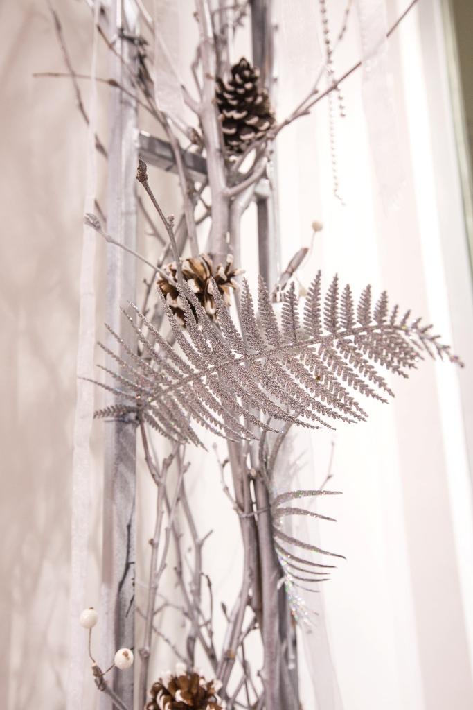 Новогоднее оформление витрины