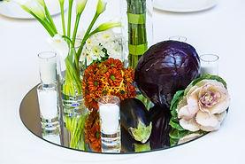 Цветочно-овощное оформление для Electrolux