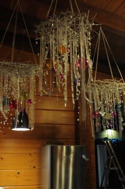 Новогодний подвесной декор